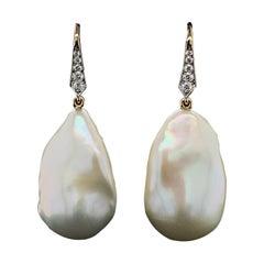 Valentin Magro Freshwater Baroque Pearl Earrings