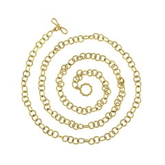 Valentin Magro Gold Doppio Link Chain Necklace