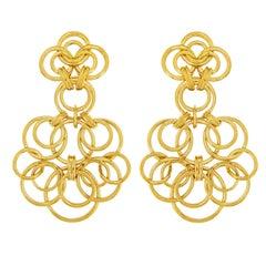 Valentin Magro Interlocking Circle Earrings