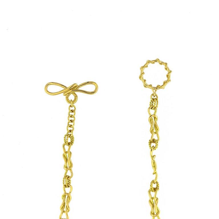 Women's Valentin Magro Interlocking Mariner Knot Necklace For Sale