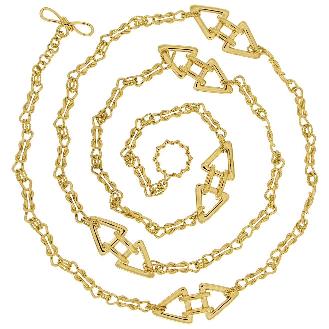 Valentin Magro Interlocking Mariner Knot Necklace