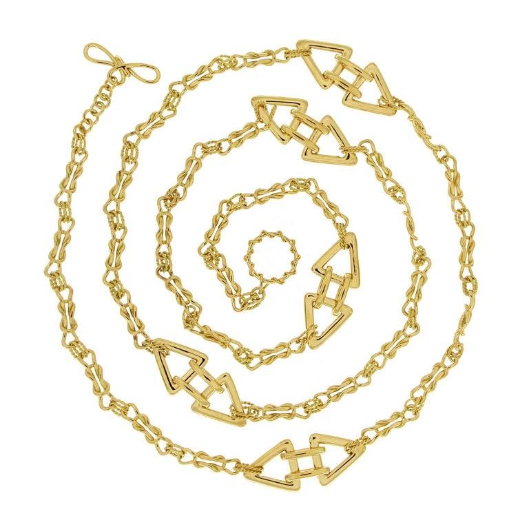Valentin Magro Interlocking Mariner Knot Necklace For Sale