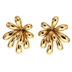 Valentin Magro Large Splish Splash Gold Earrings