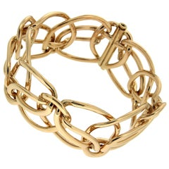 Valentin Magro Looping Ribbon Gold Bracelet