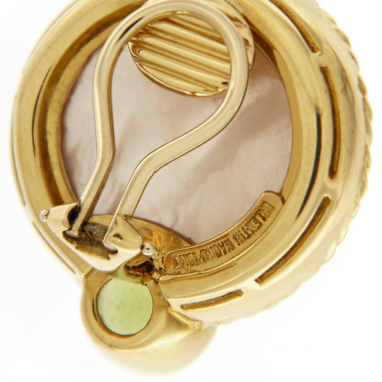 Women's Valentin Magro Mabe Pearl Peridot Gold Earrings For Sale