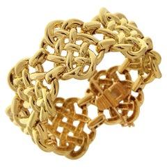 Valentin Magro Mariners Knot Yellow Gold Bracelet
