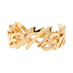 Valentin Magro Medium I Love Me More Ring, Block, in 18 Karat Rose Gold