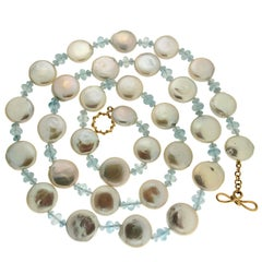Valentin Magro Medium Knot Ring and Toggle Freshwater Pearl Necklace