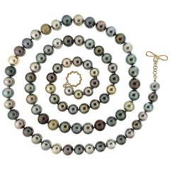 Valentin Magro Multi-Color Tahitian Pearl Necklace