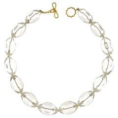 Valentin Magro Octagon Crystal Necklace