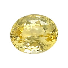 Valentin Magro Oval Yellow Sapphire
