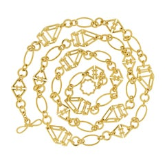 Valentin Magro Sail Boat Chain Necklace