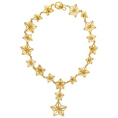 Valentin Magro Shooting Stars Gold Necklace