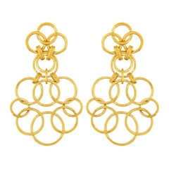 Valentin Magro Small Interlocking Circle Earrings