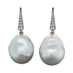 Valentin Magro South Sea Pearl Drop Earrings