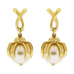 Valentin Magro Spider for Pearl Earrings