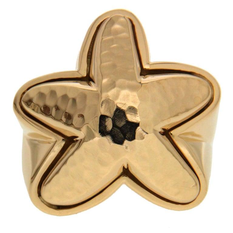 Valentin Magro Starfish Texture Ring