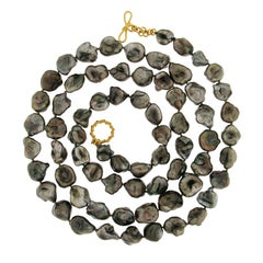 Valentin Magro Tahitian Keshi Necklace