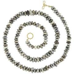 Valentin Magro Tahitian Keshi Pearl Necklace
