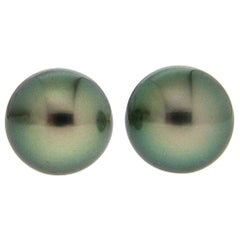 Valentin Magro Tahitian Pearl Earring Studs
