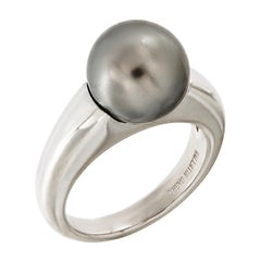 Valentin Magro Tahitian Pearl Ring in White Gold