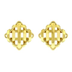 Valentin Magro Trellis over and under Earrings