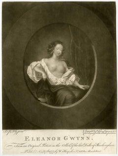Eleanor Gwynn - Portrait of Nell Gwyn. Actress and mistress to Charles II.