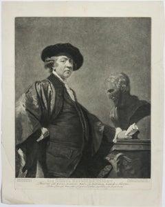 Self Portrait, Sir Joshua Reynolds, Antique Print
