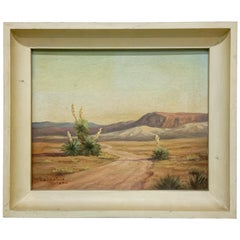 Valentine Morse 20th Century Landscape California Southwest Painting Art #2