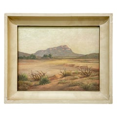Valentine Morse 20th Century Landscape California Southwest Painting Art