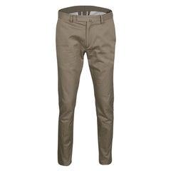 Valentino 21. Khaki Cotton Rockstud Straight Fit Untitled Pants S