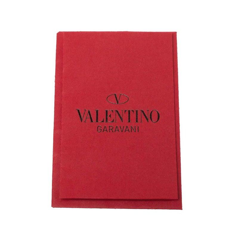Valentino Avocado/Beige Leather Aphrodite Bow Bag For Sale 10