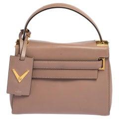 Valentino Beige Leather My Rockstud Crossbody Bag