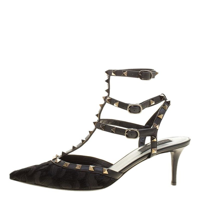aed9d3007c7d8 Nothing like a posh pair of sandals to grab the spotlight! These Valentino  sandals have