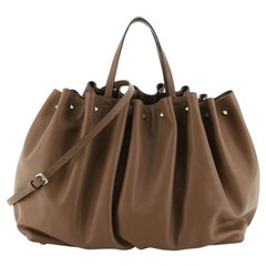 Valentino Bloomy Tote Leather Large