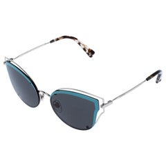 Valentino Blue/Grey Smoke VA2015 Cat Eye Sunglasses
