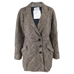 Valentino Boutique Prince of Wales Check Jacket, 1980s