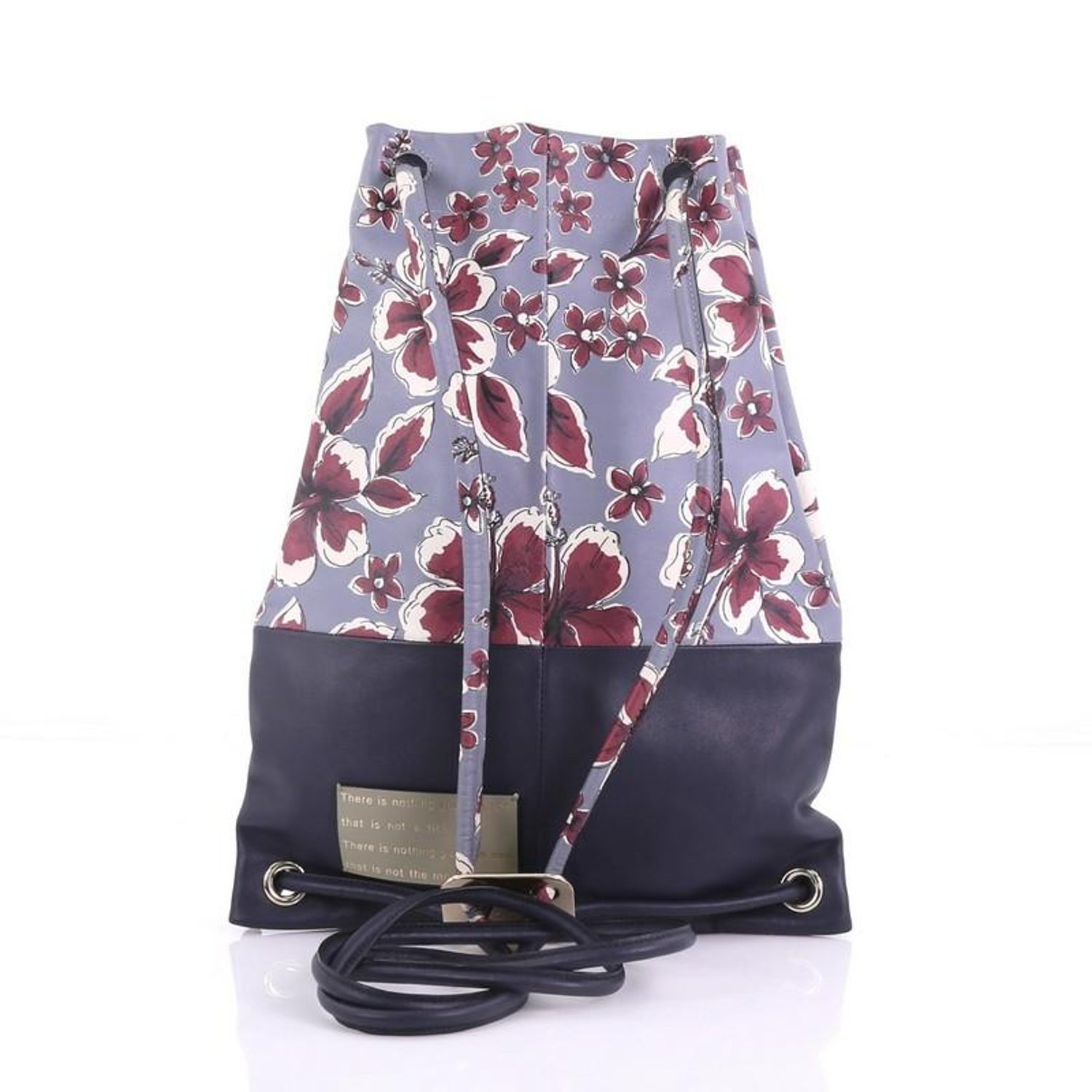 acc3df8b14f3 Valentino Drawstring Backpack Printed Leather Large For Sale at 1stdibs
