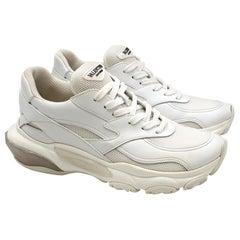 Valentino Garavani bounce white leather sneakers 38.5