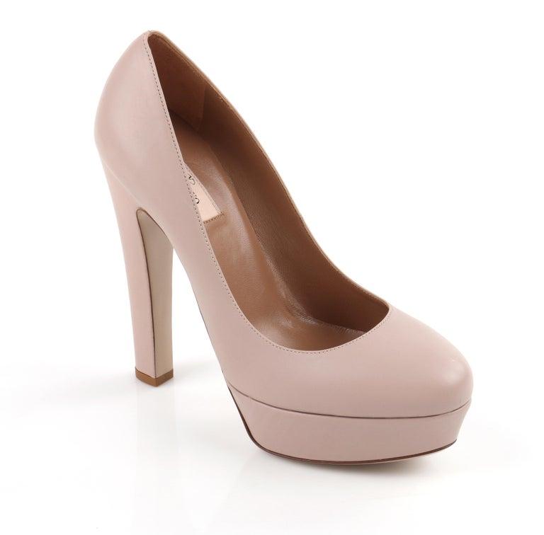 Women Fashion Peep Toe Patent Leather High Platform Pumps