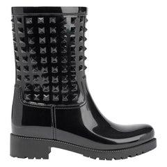 Valentino Garavani Rockstud Rubber Rain Boots