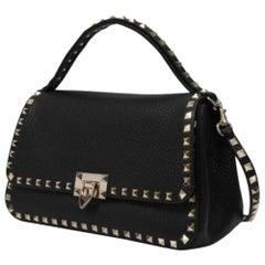 Valentino Garavani Small Rockstuds Top Haandle Bag