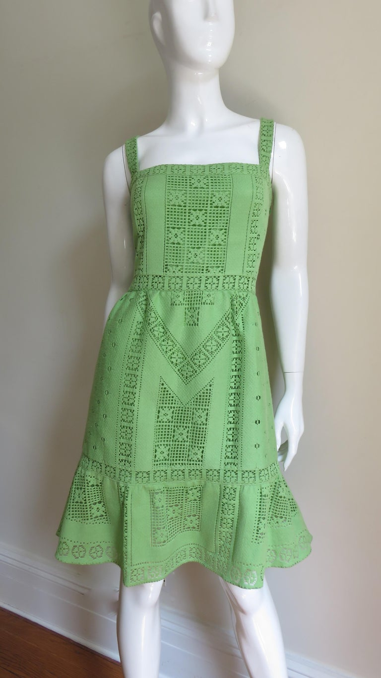 Valentino New Guipure Lace Dress For Sale 1