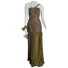 VALENTINO Haute Couture beaded embroidered Unique Siren model - Unworn