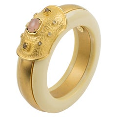 Valentino Haute Couture Jeweled Bracelet Bangle