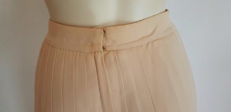 VALENTINO Haute Couture Top Skirt Swarovski Diamonds Waistband Silk Dress-Unworn For Sale 5