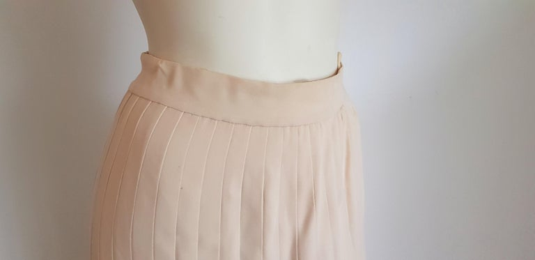 VALENTINO Haute Couture Top Skirt Swarovski Diamonds Waistband Silk Dress-Unworn For Sale 7