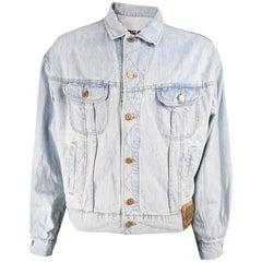 Valentino Jeans Mens Vintage Denim Jacket