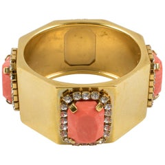 Valentino Jeweled Haute Couture Bracelet Bangle