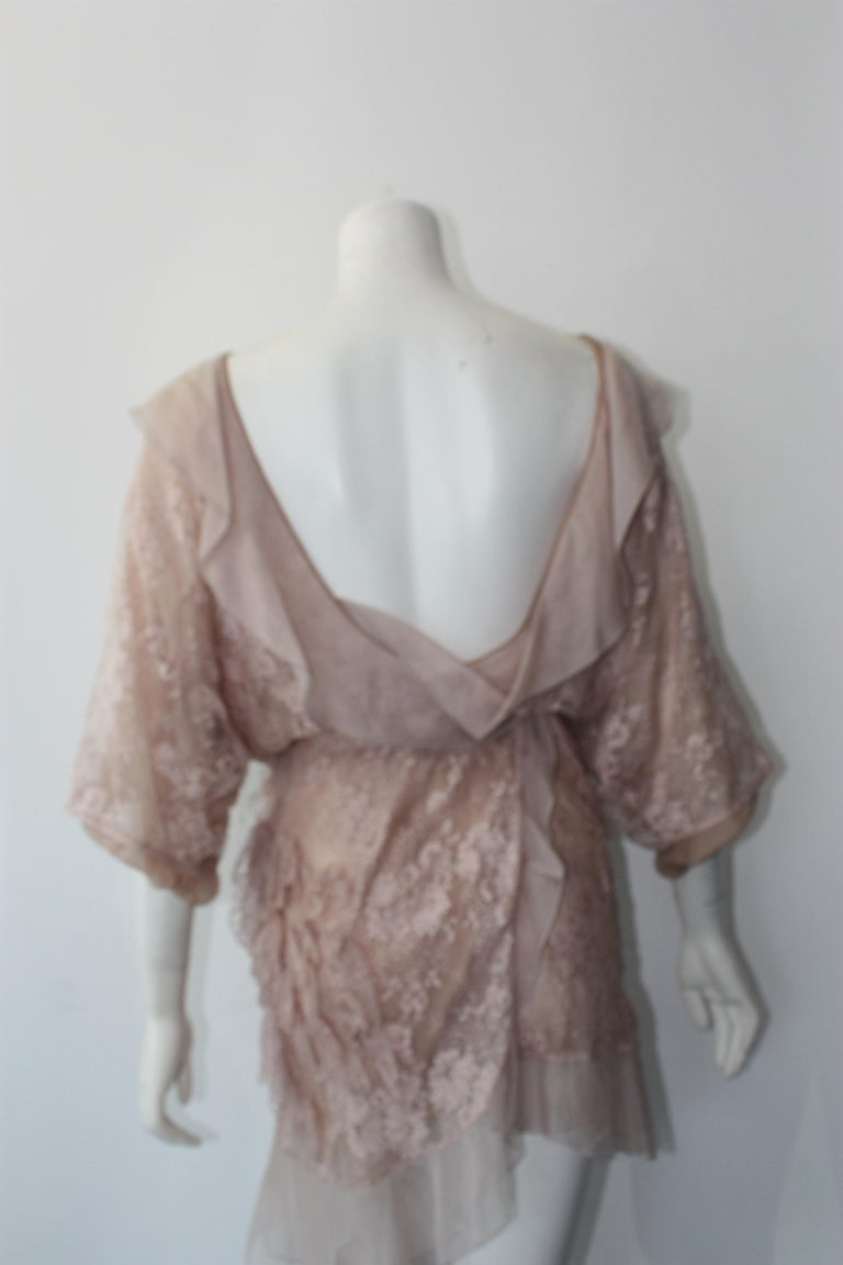 Valentino Lace Dress  For Sale 6